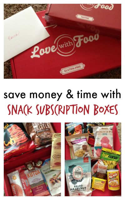 Love with Food Snack Subscription Boxes
