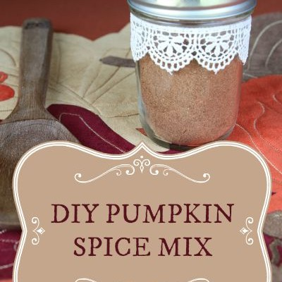 Stop Wasting Money on Pre-made mixes and Whip Up this DIY Pumpkin Spice Mix