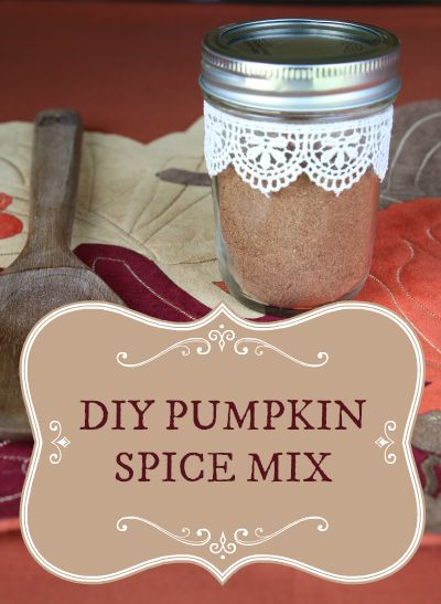 DIY Pumpkin Spice Mix Recipe