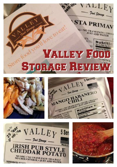 Long-Term Food Storage – Valley Food Storage Review