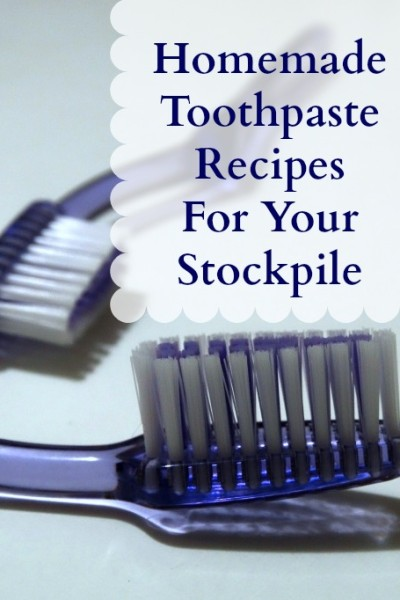Homemade Toothpaste Recipes For Your Stockpile