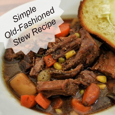 Simple Old-Fashioned Stew Recipe
