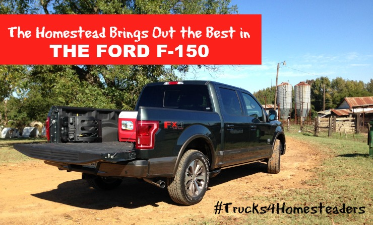 Trucks for Homesteaders: 2015 Ford F-150 King Ranch Super Crew 4×4 Off Road