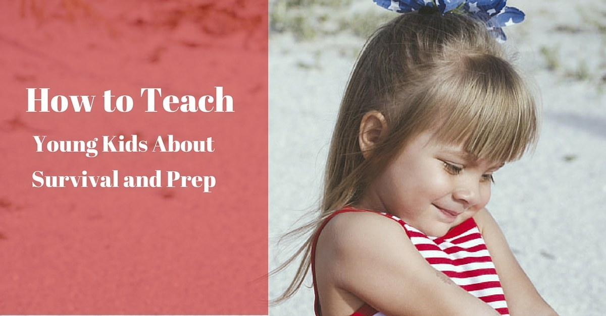 How To Teach Young Kids About Survival And Prepping