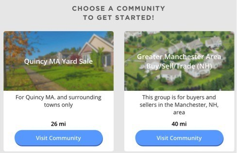Choose a Community