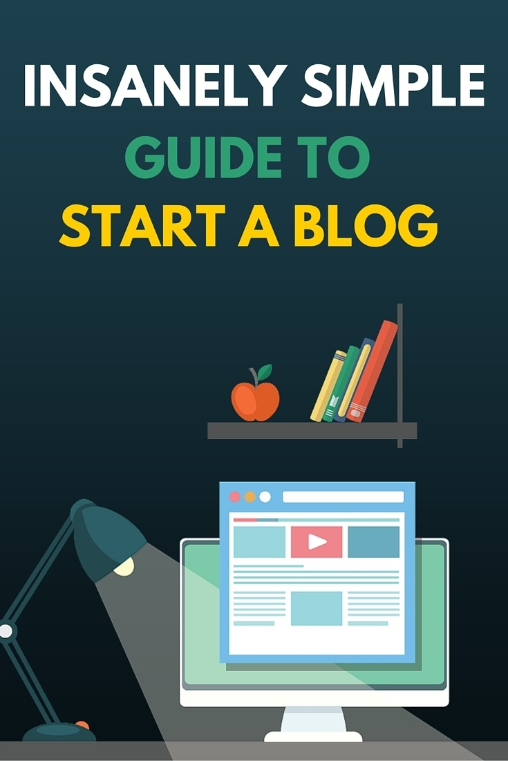 simple guide to start a blog