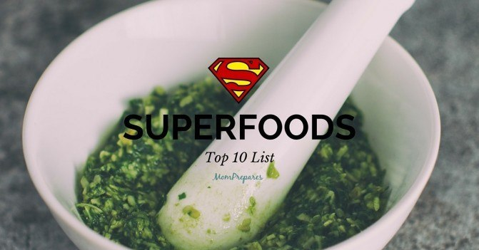 Top 10 List of Superfoods For a Superhero's Diet