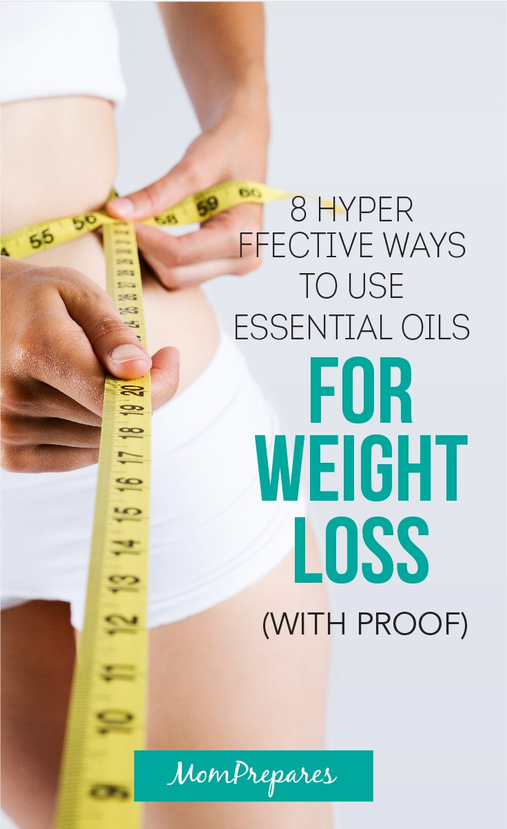 8 Amazing Ways To Use Essential Oils For Weight Loss With