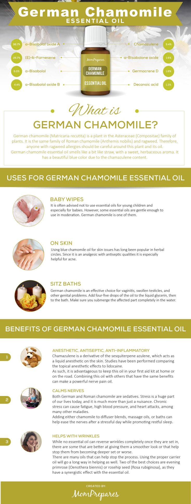 German Chamomile infographic