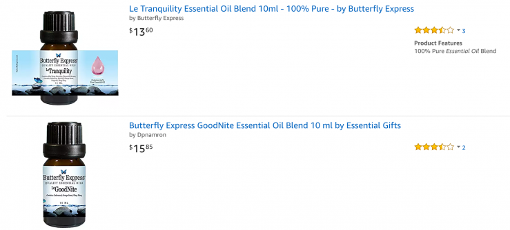 butterfly express amazon products