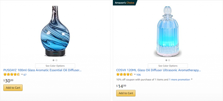 nebulizer diffusers amazon