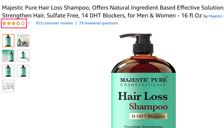 majestic pure 3.5 star product