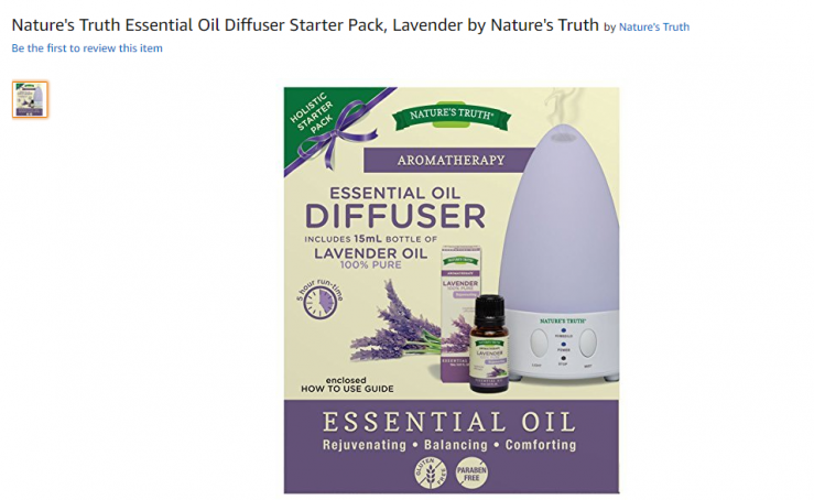 natures truth diffuser starter kit