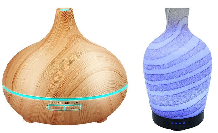 ultrasonic diffuser vs glass oil diffuser