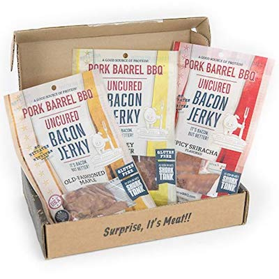Man Crates Bacon Jerkygram