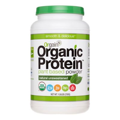 Orgain Plant Based Protein Powder