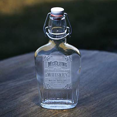 Personalized Engraved Flask