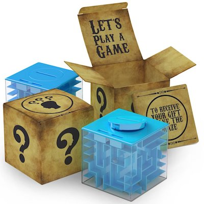aGreatLife Money Maze Puzzle Box