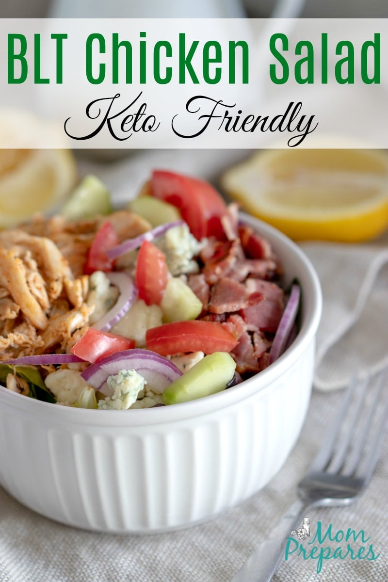 Keto BLT Chicken Salad