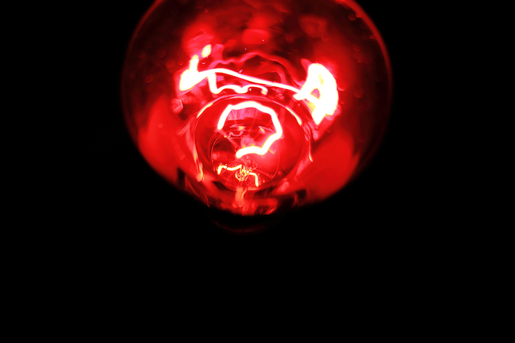 Infrared Red Light Bulb