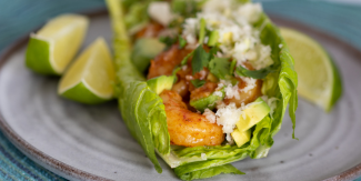 Keto Shrimp Lettuce Wraps