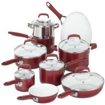 WearEver Pure Living Cookware Set