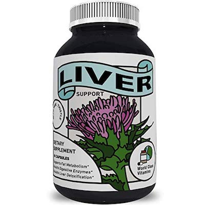 World Class Vitamins Liver Support