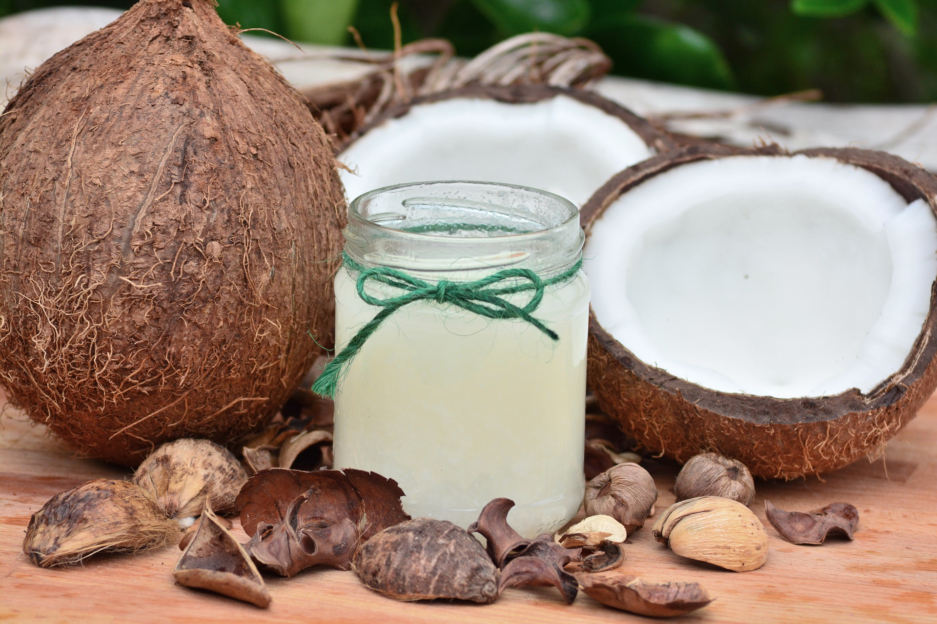 coconut oil for food