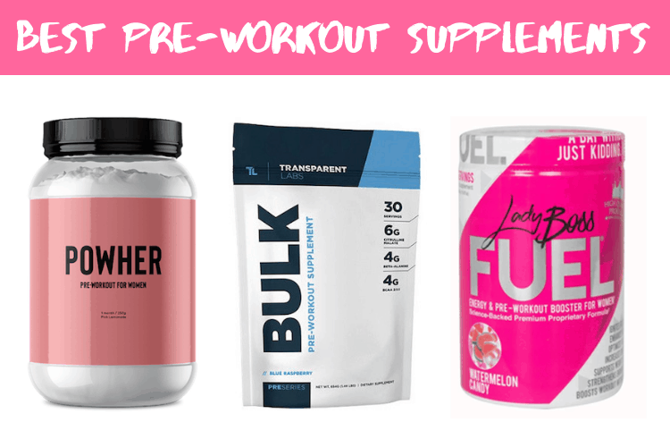 Best Pre-Workout Supplements