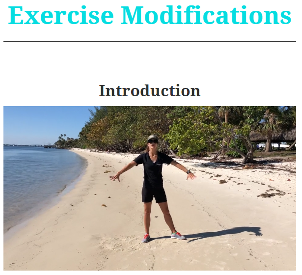 Exercise Modifications