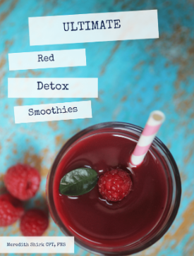 Red Detox Smoothies