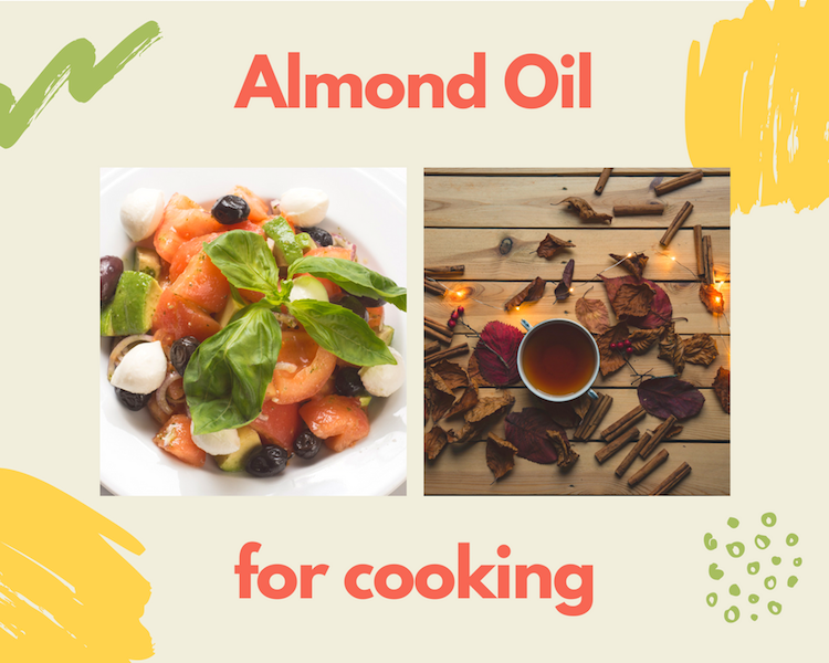 Almond Oil for Cooking