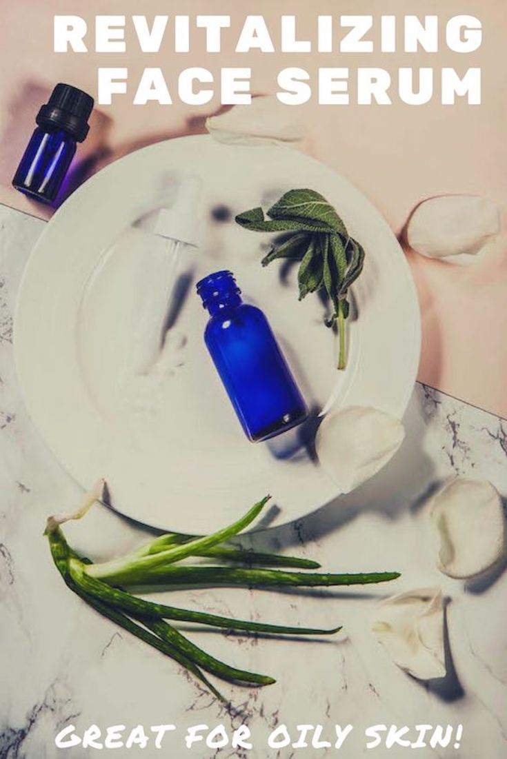 DIY Revitalizing Face Serum for Oily Skin | Momprepares.com