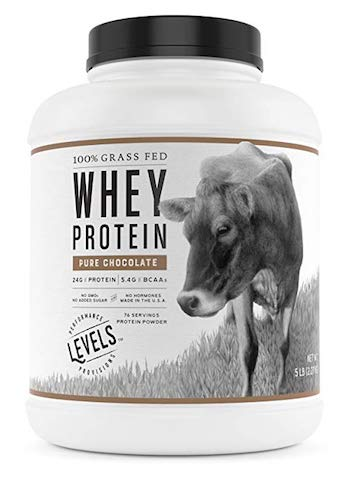 Levels Nutrition Grass Fed Whey