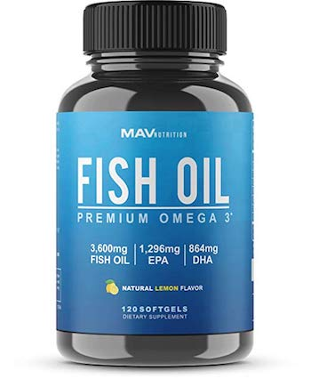 MAV Nutrition Fish Oil