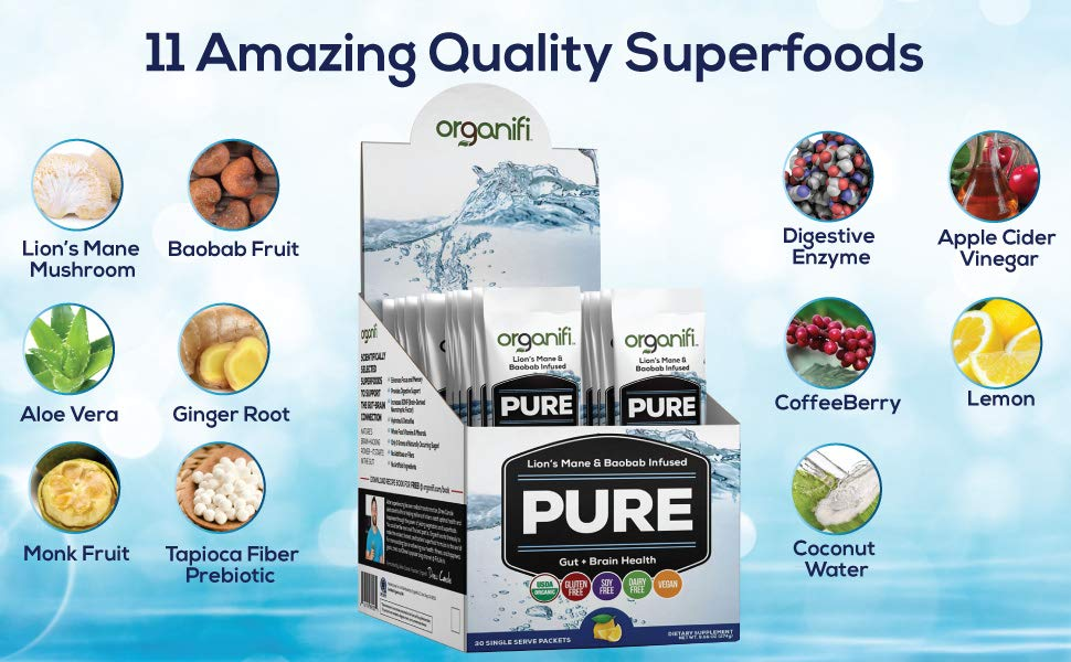 Organifi Pure Superfoods