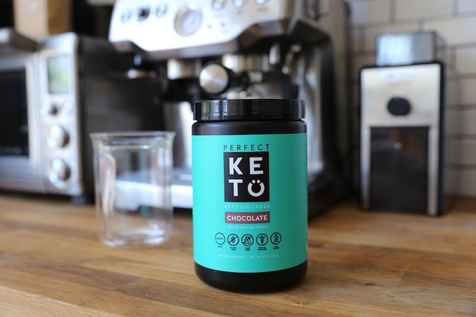 Perfect Keto Collagen Chocolate Protein