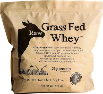 Raw Grass Fed Whey