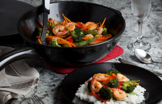 Xtrema Ceramic Cookware with stirfry
