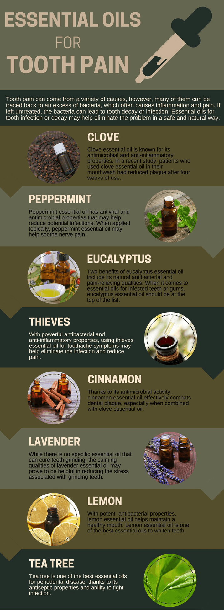Best-Essential Oils for Toothaches