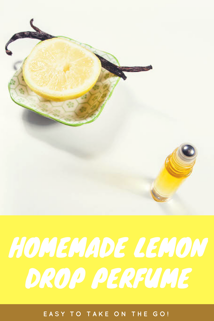 Homemade Lemon Drop Perfume
