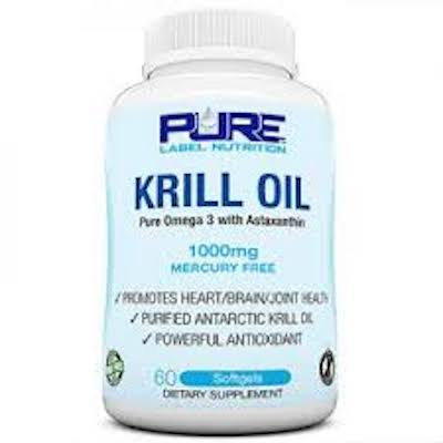 Pure Label Nutrition Krill Oil
